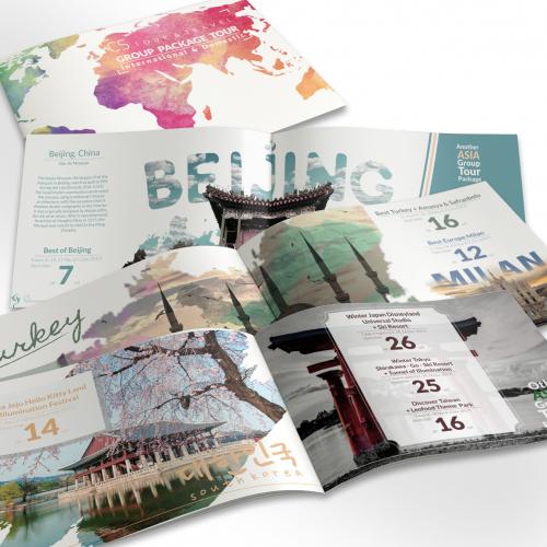 Travel Catalog/Booklet