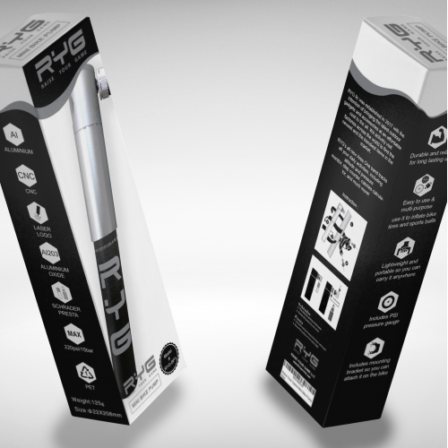 Bike Pump Packaging Design