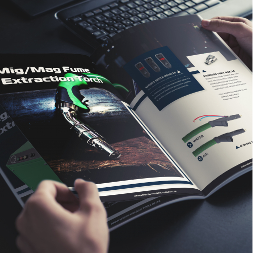 Catalog Design - Industrial Brand
