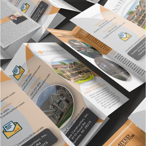 Brochure Design - Sonshine Construction