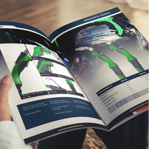 Catalog Design - Industrial Tools