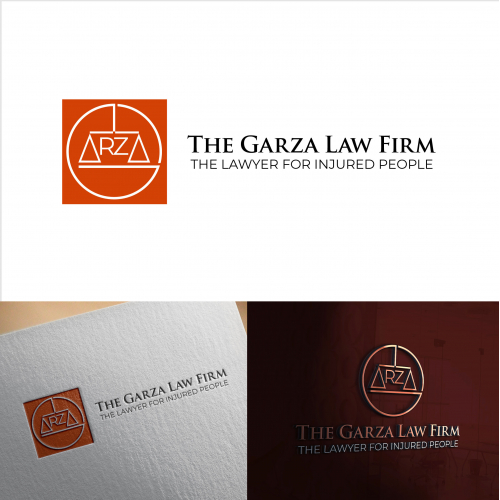 The Garza Law Firm Logo, Lawyer for injured people