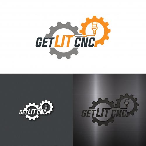 GET LIT CNC Logo.