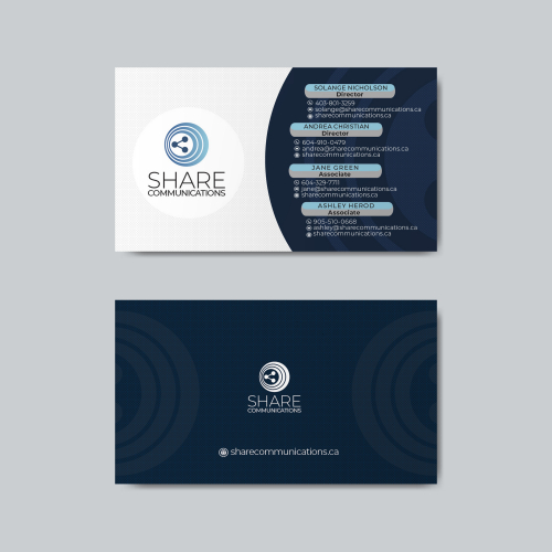 Share Communications Business Card