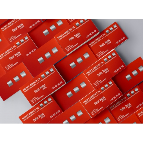 Pavlov's Architects business cards