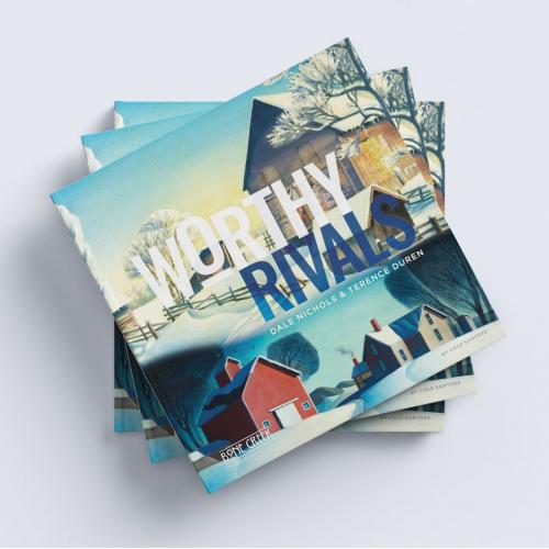 Worthy Rivals Book Design