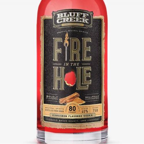 Bluff Creek Distillery   Fire in the Hole