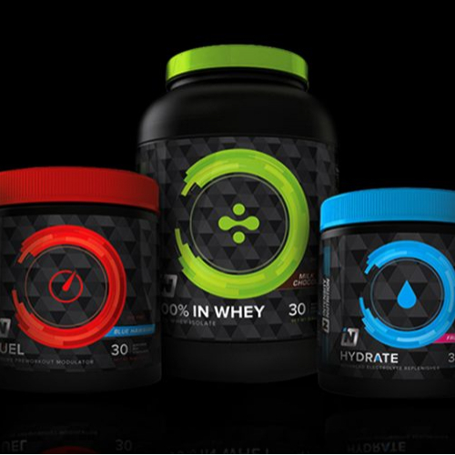 Intensity Nutrition   Packaging Design
