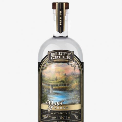Bluff Creek Distillery Y-Not Vodka
