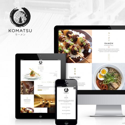 Komatsu Ramen   Branding