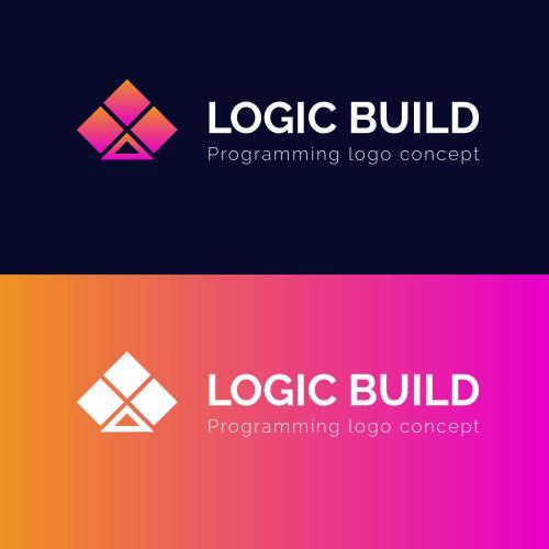 Programming Logo Design    LOGIC BUILD