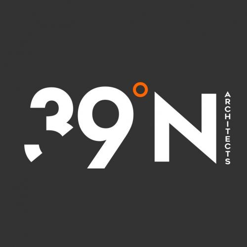 Sharp Logo Design for 39 N