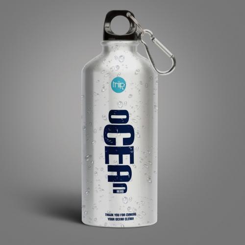 Sporty Water Bottle Design