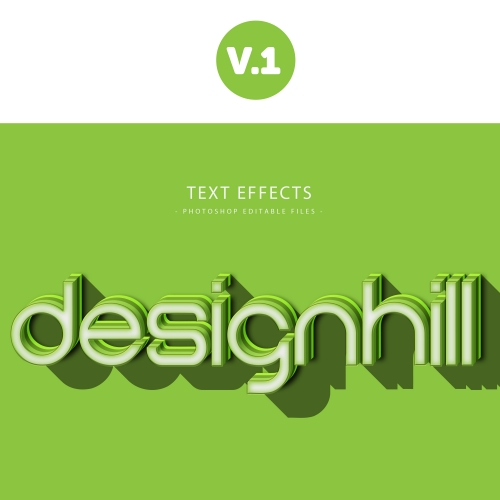 designhill text effect vol.1