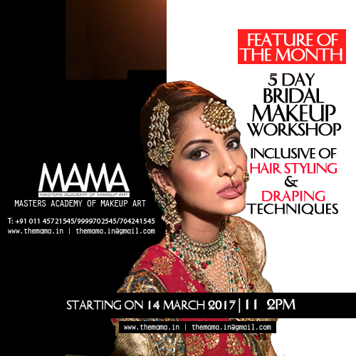 Campaign - Online Campaign for Bridal Makeup Workshop