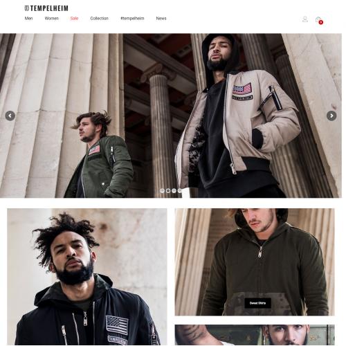 Tempelheim eCommerce Website