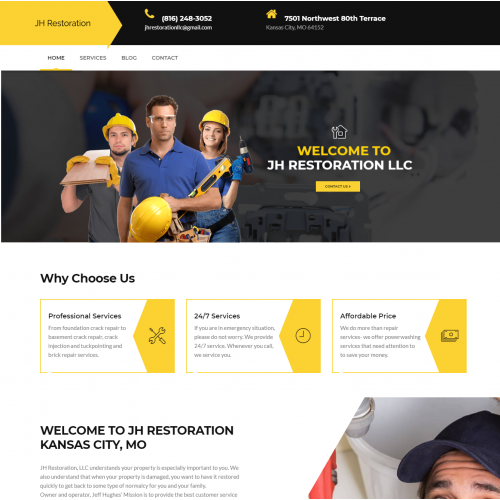 JH Restoration Home Repair Services Company