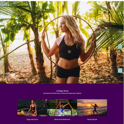 LindsayNova Yoga Trainer