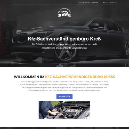 KFZ Sachverstaendiger Kress Car Hiring Company