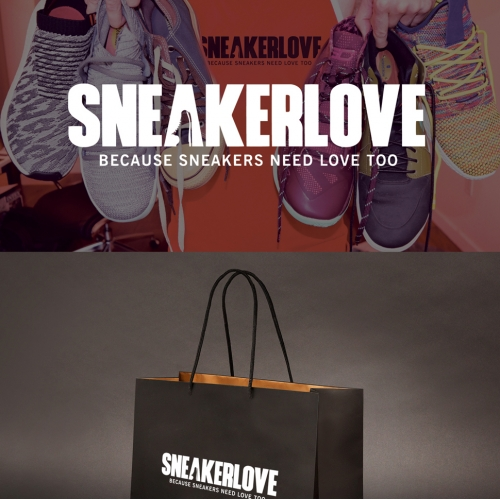 SNEAKERS LOVE LOGO