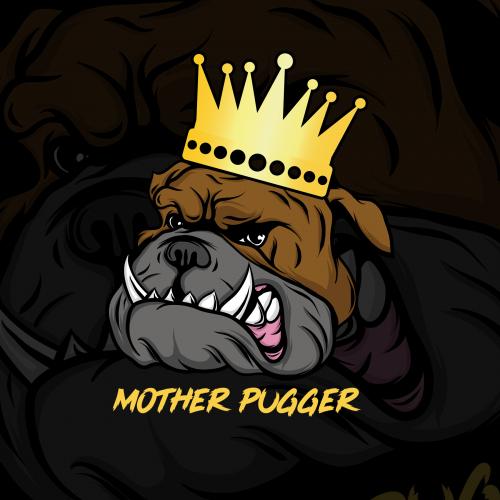 illustration King Buldog