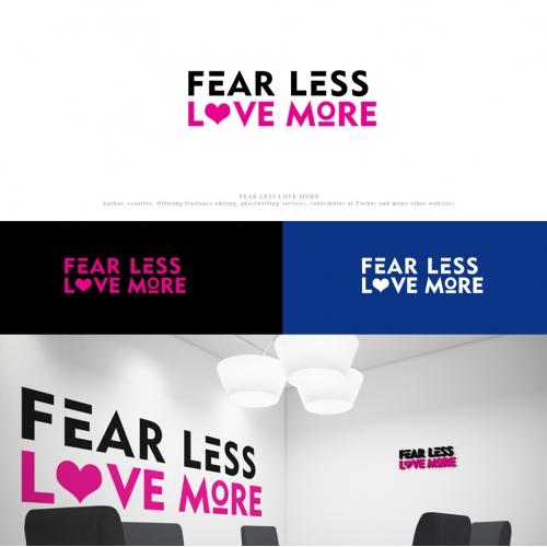 FEAR LESS LOVE MORE logo