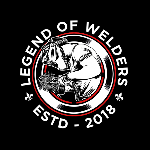 Legend of welders illustrations
