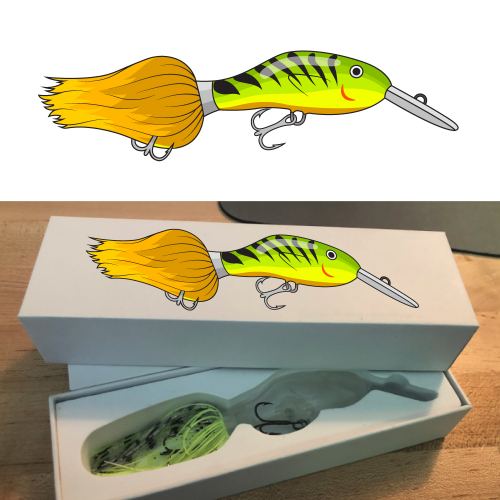Fishing Lure Box design