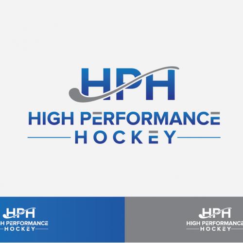 High Performance Hockey logo design