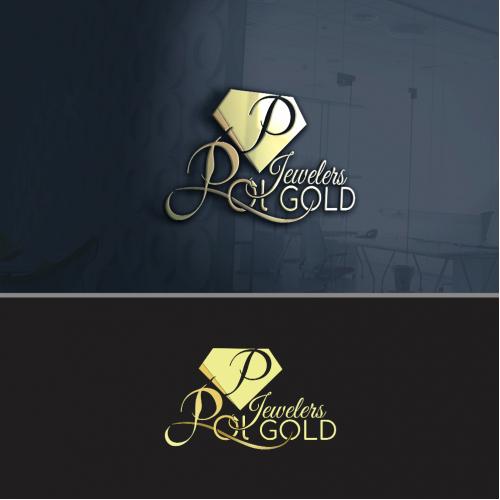 Pol gold logo design 2
