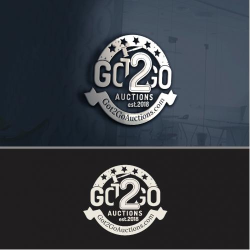 Got2GO auctions logo design