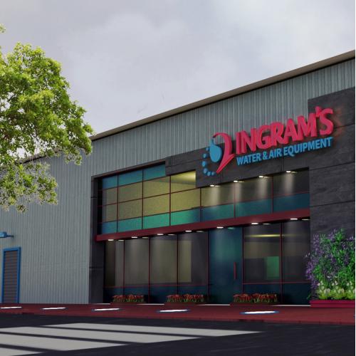 Ingram warehouse design