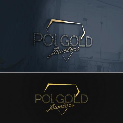 Pol GOLD Logo design