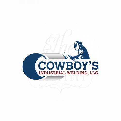 Logo design for Cowboy's Industrial welding