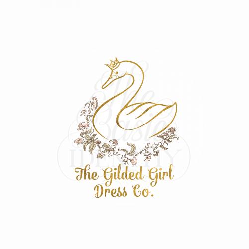 Logo design for Gilded Girl Dress