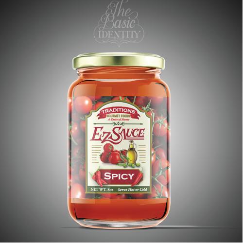 Label Design for Ez Sauce