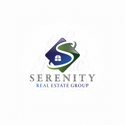 Logo design for Serenity Real Estate Group
