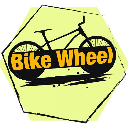 bike wheel logo