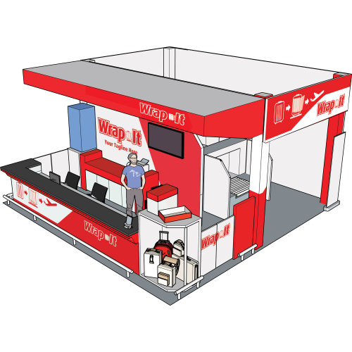 Wrap It 3D Booth Proposal
