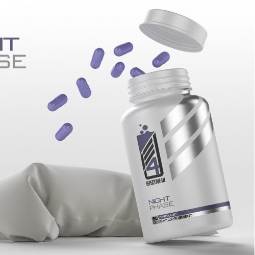 sleep formula label design