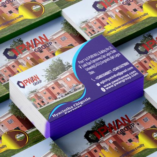 Pwan business card