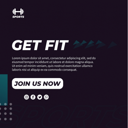 new fitness web page design ...