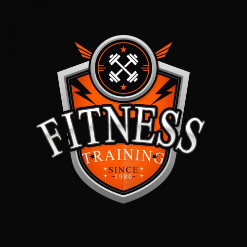 New modern fitness logo design