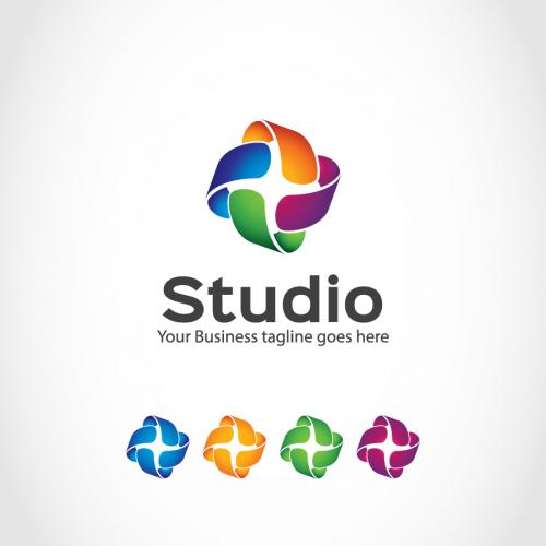 Modern  entertainment logo 2020