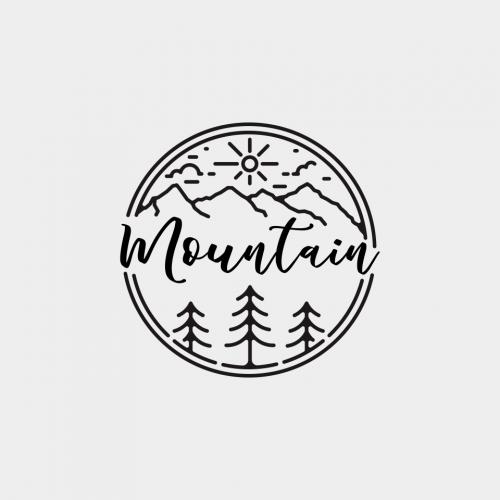 mono line logo designs
