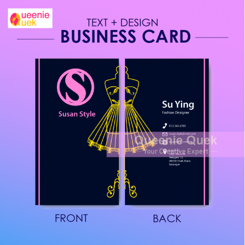 Business Card for Fashion Designer