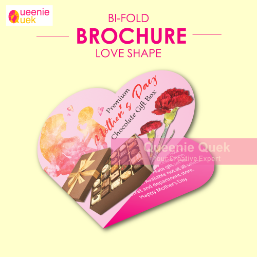 Heart Shape Brochure