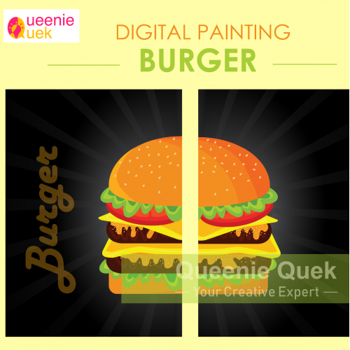 Burger_Digital Painting