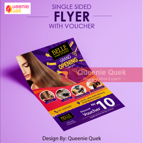 Leaflet/ Flyer with Voucher