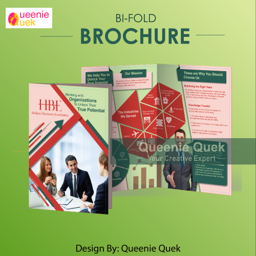 Bi-Fold Brochure for Business Consultant Firm